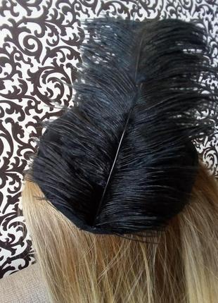Заколка шляпка в стиле ретро мафия гетсби