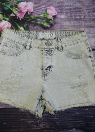 Шыкарные стильные шорты фирмы fb sister denim m новые