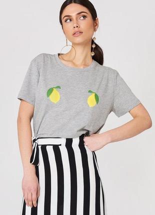 Коттоновая футболка новая с биркой брендаna-kd
