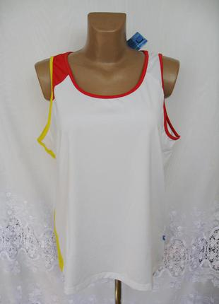 Новая спортивная футболка безрукавка jardex полиэстер 2х 54 - 56 c125n