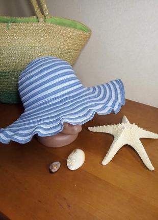 Шляпа с широкими полями широкополая панама