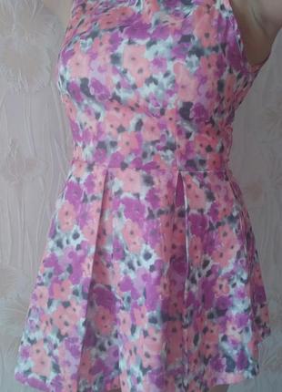Классное летнее платье-сарафан boohoo р..44-46