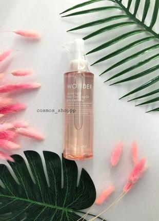 Гидрофильное масло tony moly wonder apricot seed deep cleansing oil корейская косметика