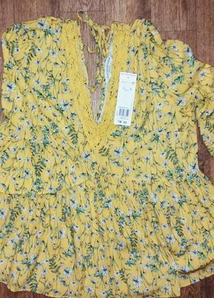 Лёгкая блуза f&f