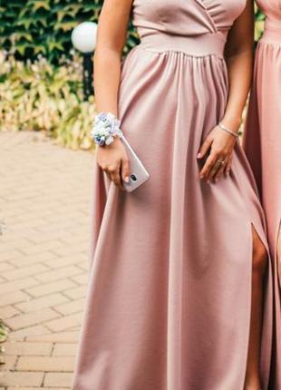 Шикарное вечернее платье. платье для дружки