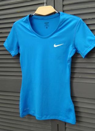 Спортивна жіноча футболка  nike1 фото