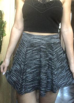 Классная легкая юбка