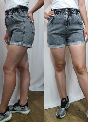 Джинсовые шорты резинка