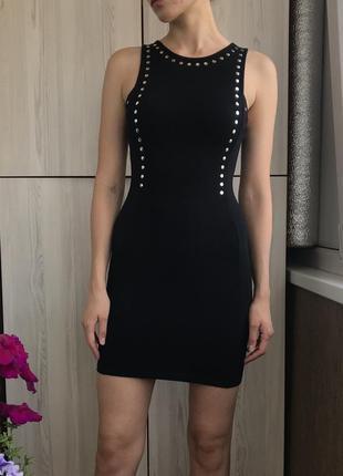 Шикарное чёрное платье h&m