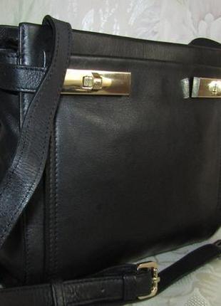 -autograph- стильная сумка 100% кожа
