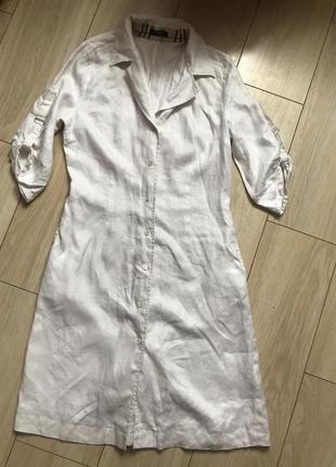 Платье рубашка burberry