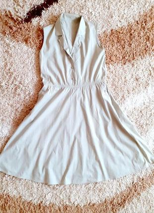Платье летнее расклешенное миди идеальное