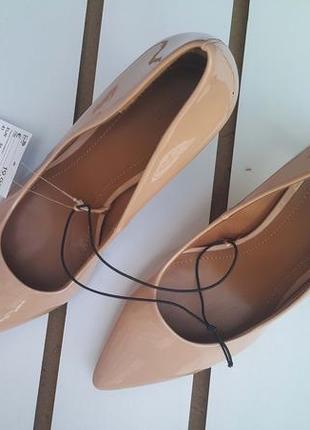 Элегантные женские туфли h&m 37р2 фото