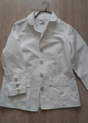 Columbia белый пиджак м
