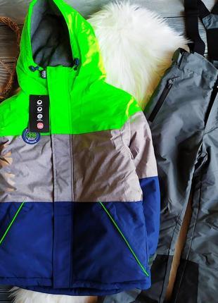 Лыжный костюм, комплект куртка и штаны