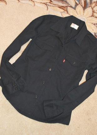 Рубашка джинсовая levis р.m