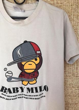 Футболка baby milo  by a bathing ape