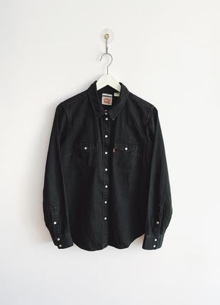 Женская джинсовая рубашка levi's strauss & co. classic fit