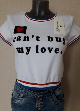 Модная,яркая,молодежная укороченная футболка-кроп,топ с бархатным принтом