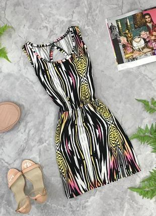 Летнее платье с оригинальной спинкой  dr1902029 george