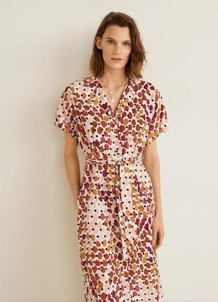 Платье-рубашка mango размер xs
