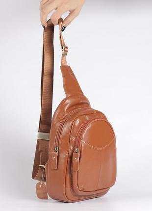 Вместительная кожаная сумка недорогая