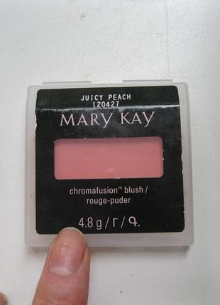 Румяна  juicy peach mary kay