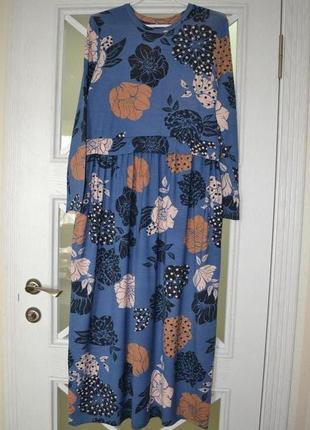 Платье с цветами selected femme