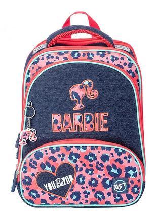 Рюкзак школьный для девочки yes barbie