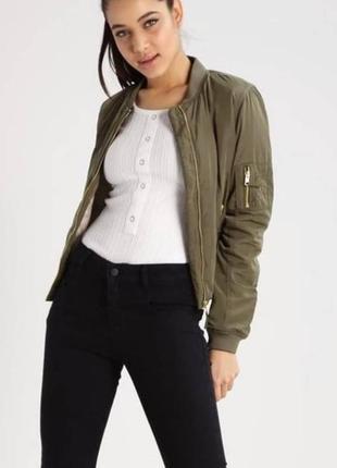 Куртка курточка бомбер хаки