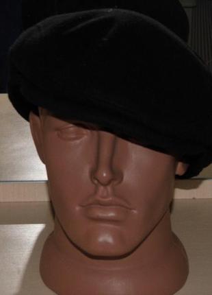 Кепка кашкет с ушками флисовая - 61 размер - германия