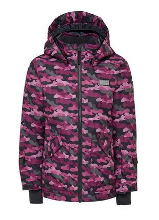 Зимняя лыжная мембранная куртка для девочки lego wear reima lenne