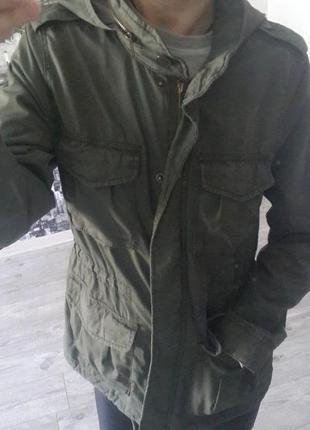Крутая парка/куртка от h&m