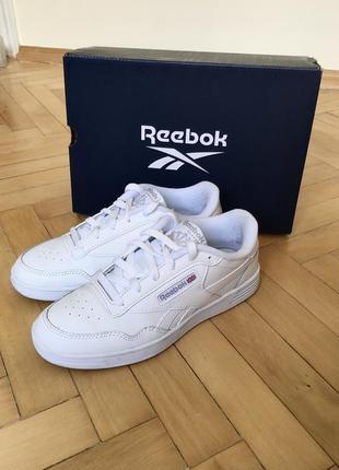 Reebok club белые кроссовки кеды классика