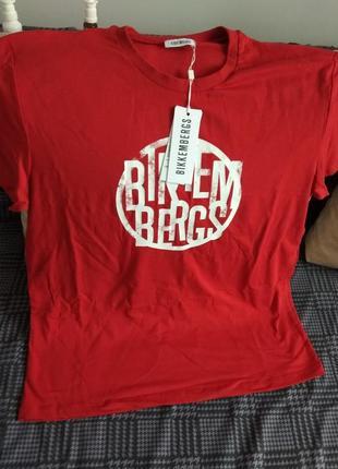 Оригінальні футболки бренду bikkembergs!