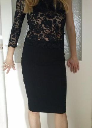 Юбка классическая, юбка- карандаш. zara