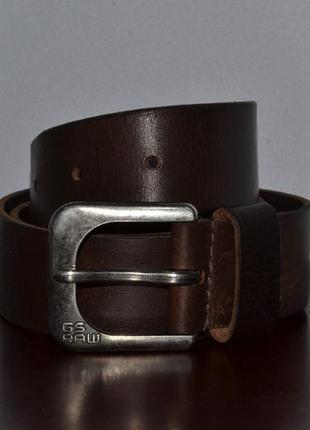 Ремень g-star raw leather belt