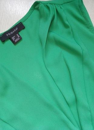 Зеленый боди на запах8 фото