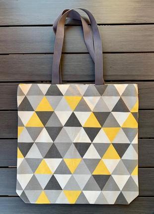 Шоппер треугольники - геометрия