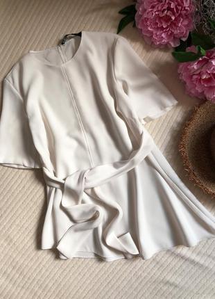Крутая блуза с трапецией