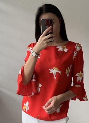 Красивая натуральная блуза!