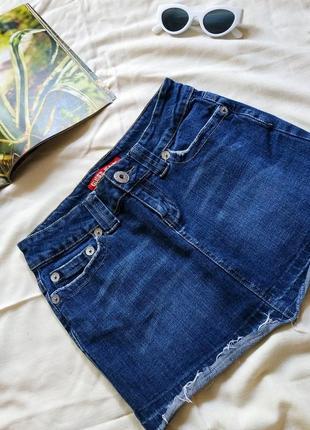 Guess джинсовая юбка