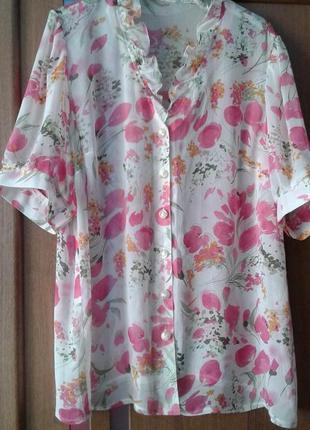 Шифоновая блузка, блуза
