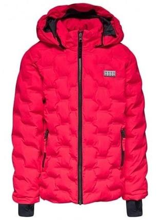 Зимняя утепленная куртка для девочки lego wear reima lenne columbia