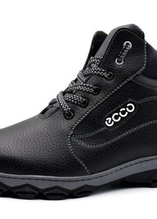 Мужские ботинки зимние утепленные (сб-16н)