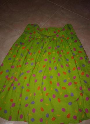 # розвантажуюсь. яркая пышная юбка colors of benetton