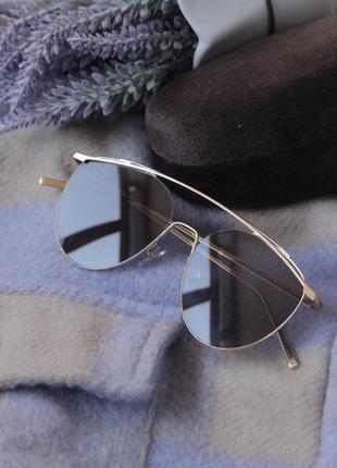 Скидка! новые солнцезащитные очки премиум качества с крутым чехлом