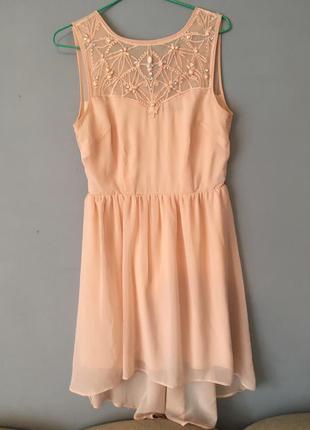 Супер платье с камнями kira plastinina