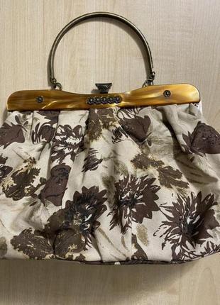Красивая женская сумка ретро винтаж