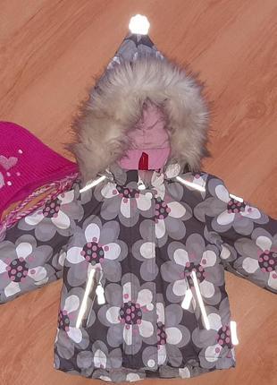 Куртка reima tec 92+6 идеал!